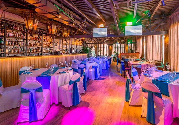 Ресторан для свадьбы, банкетный зал Паруса на крыше