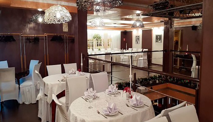 """Ресторан для свадьбы, банкетный зал """"Ретро Блюз / Retro Blues"""""""