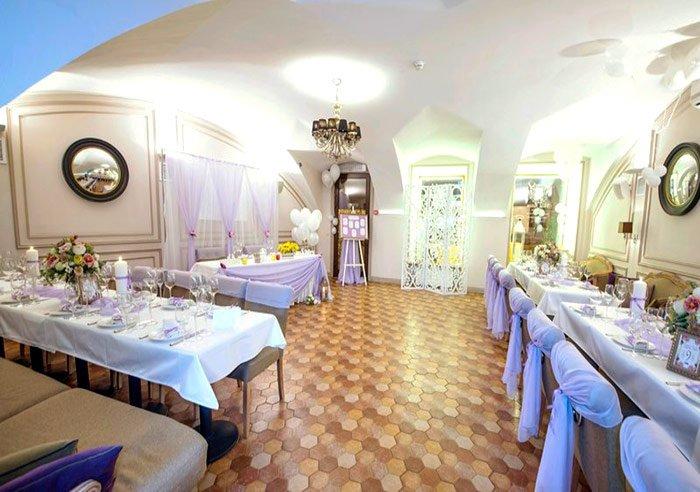 """Ресторан для свадьбы, банкетный зал """"Вилла Астон"""" в центре города"""