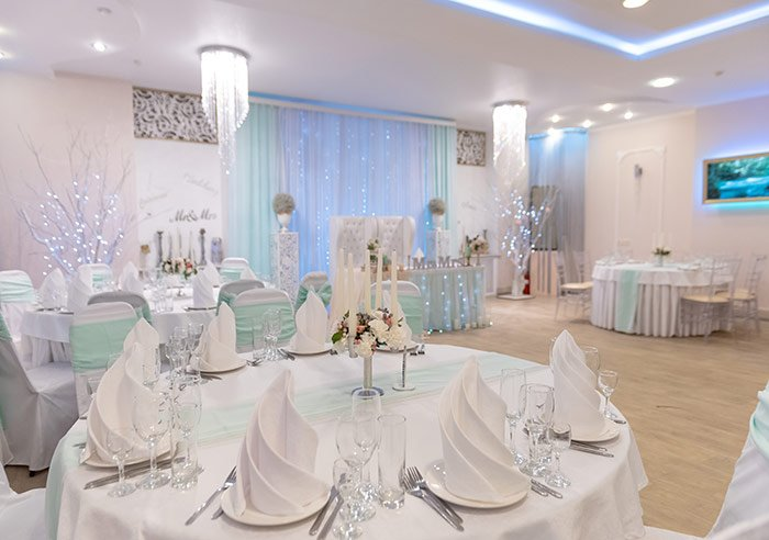 Ресторан для свадьбы, банкетный зал Ниагара