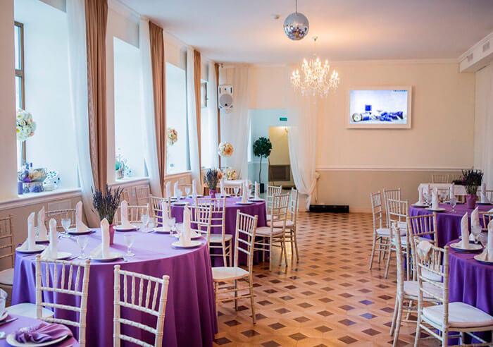 Ресторан для свадьбы, банкетный зал Прованс