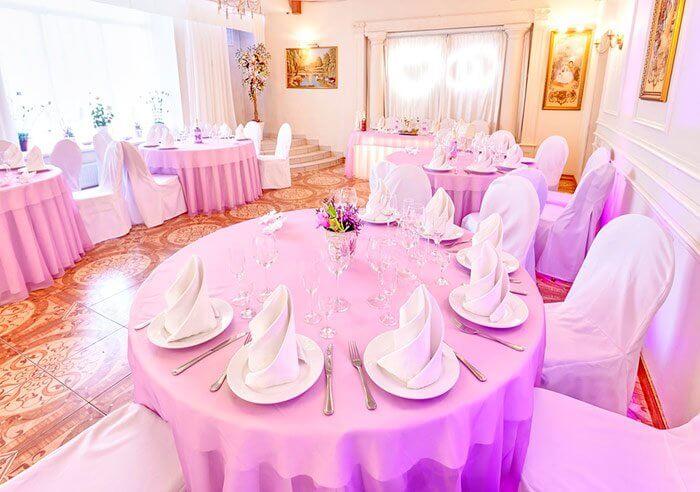 Ресторан для свадьбы, банкетный зал Лугана