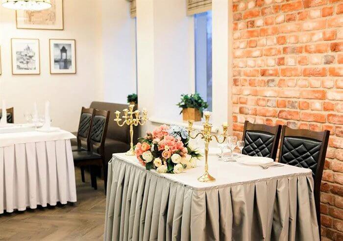Ресторан для свадьбы, банкетный зал Петров Лофт на Крестовском острове