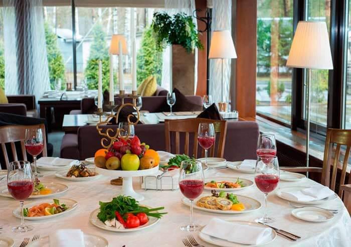 Ресторан для свадьбы загородом, банкетный зал Руно ру / Runo ru в Репино