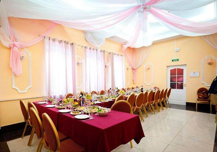 Загородный ресторан для свадьбы Редвилл в Красном селе