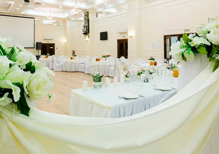 Ресторан для свадьбы, банкетный зал спб Алмонд / Almond