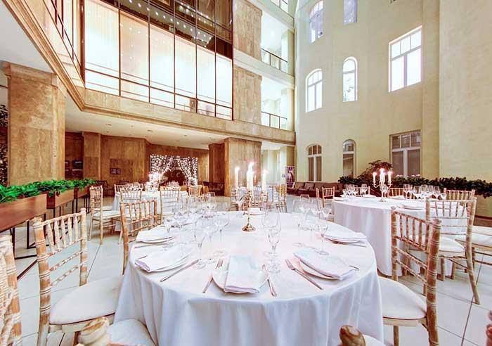Ресторан для свадьбы, банкетный зал Атриум Северная Столица