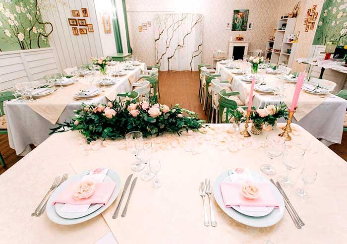 Ресторан для свадьбы, банкетный зал Босор