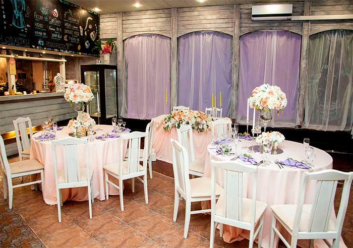 Кафе для свадьбы, банкетный зал  Антракт / Entracte на Профессора Попова у ЛДМ