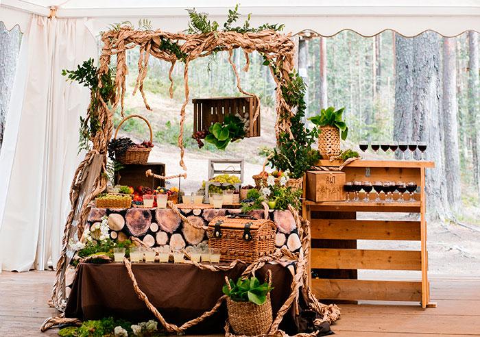 Ресторан для свадьбы, банкетный зал Гринвальд / GREENVALD Парк Скандинавия