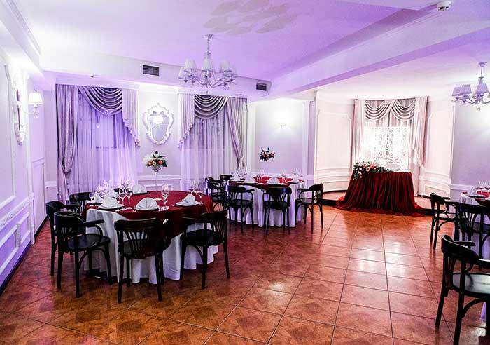 Ресторан для свадьбы, банкетный зал Кафе Фонтанка