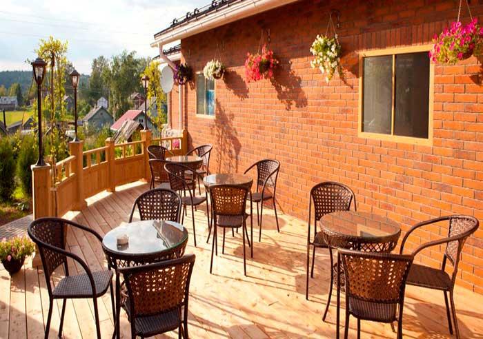 Ресторан для свадьбы, банкетный зал Ладожская Усадьба в Карелии